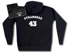"""Zum taillierter Kapuzen-Pullover """"Stalingrad 43"""" für 28,00 € gehen."""