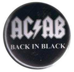 """Zum 37mm Button """"ACAB Back in Black"""" für 1,00 € gehen."""