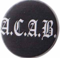 """Zum 37mm Button """"ACAB Fraktur"""" für 1,00 € gehen."""