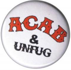 """Zum 37mm Button """"ACAB und Unfug"""" für 1,00 € gehen."""