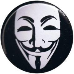 """Zum 37mm Button """"Anonymous"""" für 1,00 € gehen."""