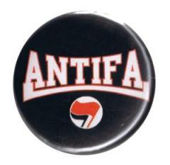 """Zum 37mm Button """"Antifa (rot/schwarz)"""" für 1,00 € gehen."""