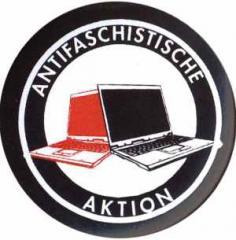 """Zum 37mm Button """"Antifaschistische Aktion (Notebooks)"""" für 1,17 € gehen."""