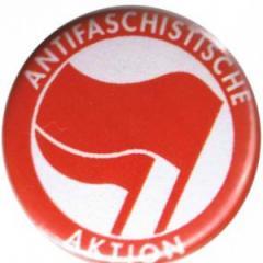 """Zum 37mm Button """"Antifaschistische Aktion (rot/rot)"""" für 0,97 € gehen."""