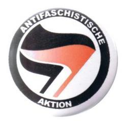"""Zum 37mm Button """"Antifaschistische Aktion (schwarz/rot, schwarz)"""" für 0,97 € gehen."""