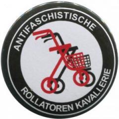 """Zum 37mm Button """"Antifaschistische Rollatoren Kavallerie"""" für 1,00 € gehen."""