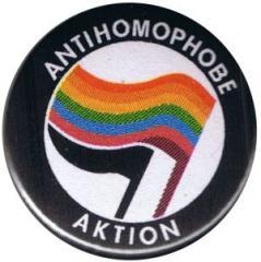 """Zum 37mm Button """"Antihomophobe Aktion"""" für 1,00 € gehen."""