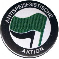 """Zum 37mm Button """"Antispeziesistische Aktion (grün/schwarz)"""" für 1,00 € gehen."""