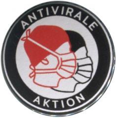 """Zum 37mm Button """"Antivirale Aktion - Mundmasken"""" für 1,00 € gehen."""