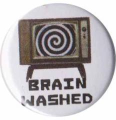 """Zum 37mm Button """"Brain washed"""" für 1,00 € gehen."""