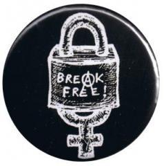 """Zum 37mm Button """"Break Free"""" für 1,00 € gehen."""