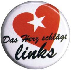 """Zum 37mm Button """"Das Herz schlägt links"""" für 1,00 € gehen."""