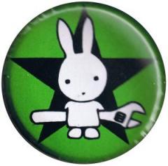 """Zum 37mm Button """"Direct Action Hase - Stern (grün)"""" für 1,00 € gehen."""