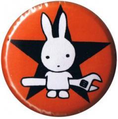 """Zum 37mm Button """"Direct Action Hase - Stern (rot)"""" für 1,00 € gehen."""