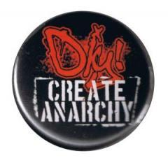 """Zum 37mm Button """"DIY - Create anarchy"""" für 1,00 € gehen."""