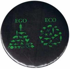 """Zum 37mm Button """"Ego - Eco"""" für 1,00 € gehen."""