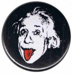 """Zum 37mm Button """"Einstein"""" für 1,00 € gehen."""