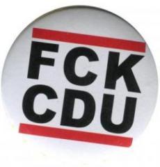 """Zum 37mm Button """"FCK CDU"""" für 1,00 € gehen."""