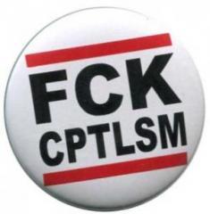 """Zum 37mm Button """"FCK CPTLSM"""" für 0,97 € gehen."""