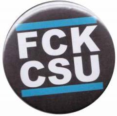 """Zum 37mm Button """"FCK CSU"""" für 1,00 € gehen."""
