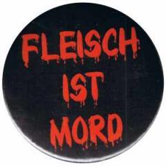 """Zum 37mm Button """"Fleisch ist Mord"""" für 1,00 € gehen."""