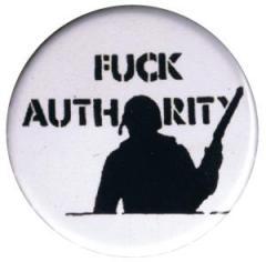 """Zum 37mm Button """"Fuck authority"""" für 0,97 € gehen."""
