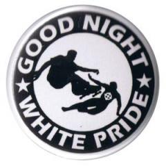 """Zum 37mm Button """"Good night white pride - Skater"""" für 0,97 € gehen."""