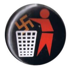 """Zum 37mm Button """"Halte Deine Umwelt sauber (bunt)"""" für 1,00 € gehen."""