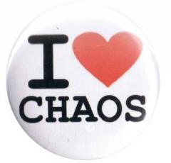 """Zum 37mm Button """"I love chaos"""" für 1,00 € gehen."""