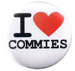 """Zum 37mm Button """"I love commies"""" für 1,00 € gehen."""