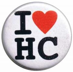 """Zum 37mm Button """"I love HC"""" für 0,97 € gehen."""