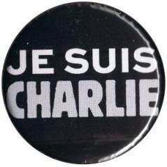 """Zum 37mm Button """"Je suis Charlie"""" für 1,00 € gehen."""