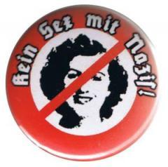 """Zum 37mm Button """"Kein Sex mit Nazis!"""" für 1,00 € gehen."""
