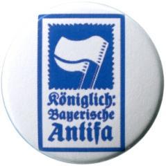 """Zum 37mm Button """"Königlich Bayerische Antifa (KBA)"""" für 1,00 € gehen."""