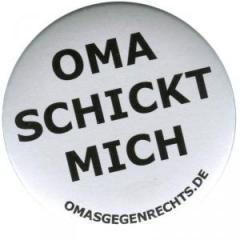 """Zum 37mm Button """"Oma schickt mich"""" für 1,00 € gehen."""