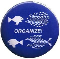 """Zum 37mm Button """"Organize! Fische"""" für 1,00 € gehen."""