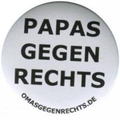 """Zum 37mm Button """"Papas gegen Rechts"""" für 1,00 € gehen."""