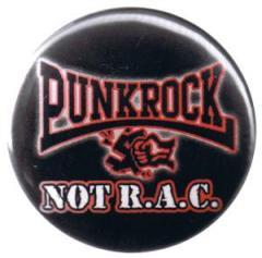 """Zum 37mm Button """"Punkrock not R.A.C."""" für 0,97 € gehen."""
