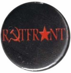 """Zum 37mm Button """"Rotfront! (schwarz)"""" für 0,97 € gehen."""