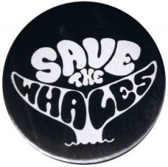 """Zum 37mm Button """"Save the Whales"""" für 1,00 € gehen."""