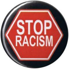 """Zum 37mm Button """"Stop Racism"""" für 1,00 € gehen."""