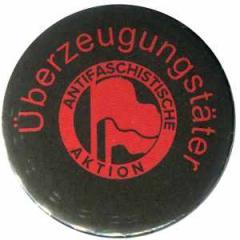 """Zum 37mm Button """"Überzeugungstäter Fahnen"""" für 1,00 € gehen."""