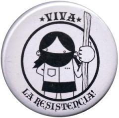 """Zum 37mm Button """"Viva la Resistencia!"""" für 1,00 € gehen."""