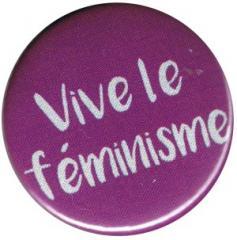 """Zum 37mm Button """"Vive le feminisme"""" für 0,97 € gehen."""