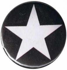 """Zum 37mm Button """"Weißer Stern (schwarz)"""" für 1,00 € gehen."""