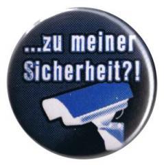 """Zum 37mm Button """"Zu meiner Sicherheit?!"""" für 1,00 € gehen."""