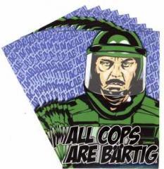 """Zum Aufkleber-Paket """"All Cops Are Bärtig (ACAB)"""" für 1,60 € gehen."""