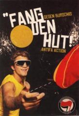 """Zum Aufkleber-Paket """"Fang den Hut!"""" für 1,75 € gehen."""
