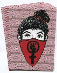 """Zum Aufkleber-Paket """"Feministas"""" für 1,75 € gehen."""