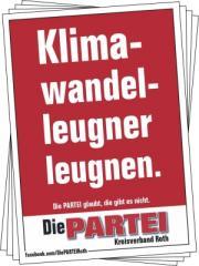 """Zum Aufkleber-Paket """"Klimawandelleugner leugnen."""" für 2,50 € gehen."""